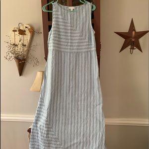 J Jill linen maxi dress